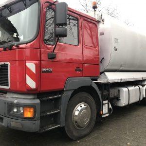 LKW Asphaltsprayer, Bitumensprayer Mobilbagger